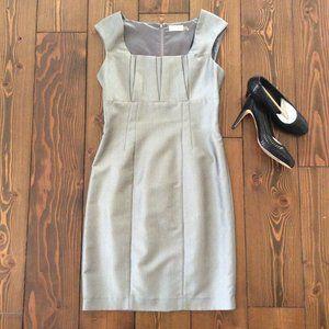 COPY 2/$40 Calvin Klein 8 Metallic Shimmer Dress